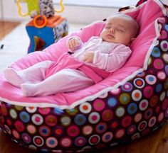 Baby bean bag #baby so cute