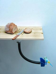 Cutting Board/Bird Feeder