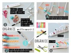 """""""Declutter & Organize"""" by kapua-blume ❤ liked on Polyvore featuring interior, interiors, interior design, home, home decor, interior decorating, MT - Masking Tape, Sharpie, modern and organize"""
