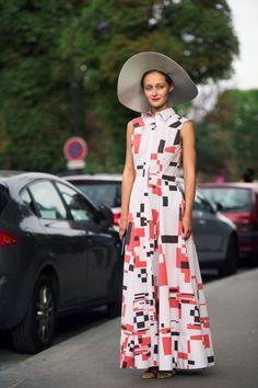 printastic. #DariaShapovalova in Paris.