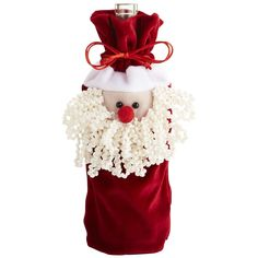 Santa Fabric Wine Bag - Pier1 US