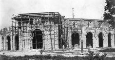 """Construcción de la plaza de toros """"La Maestranza"""" de Maracay, 1931 / Building of the bullring """"La Maestranza"""", Maracay, 1931."""