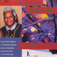 """It's Album Cover Tuesday! We're kicking off the holiday season with the 1996 recording """"Holiday Times"""" by Ella Jenkins, featuring """"Harmonica For Hanukkah."""" #Folkways #AlbumCoverTuesdays #EllaJenkins #Smithsonian #Holidays #Hanukkah"""