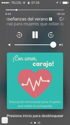 "Hoy comencé a escuchar el podcast de ""Con amor carajo!"" ... está padre. Recomendado si les late. #itunes"