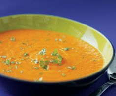 Roasted Carrot Soup by Fine Cooking
