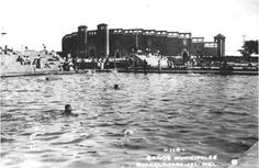 Baños Municipales Agua Azul 1940