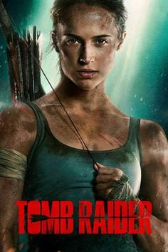 After two movies starring Angelina Jolie, it's time for a new Lara Croft Tomb Raider with Alicia Vikander in the lead role. Lara Croft (Alicia Vikander) is a passionate, independent girl and a daughter of an eccentric adventurer (Dominic West) wh Tomb Raider Full Movie, Tomb Raider 2018, New Tomb Raider, Tom Raider, Tomb Raider Film, Hd Movies Online, 2018 Movies, Top Movies, Watch Movies