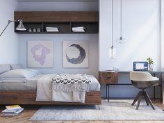 Pastel-Scandinavian-Bedroom-Design scandinavian design scandinavian design ideas for you home décor Room Design, Modern Scandinavian Bedroom Design, Bedroom Design, Decor Interior Design, Home Decor, Apartment Decor, Scandinavian Interior Design, Interior Design Bedroom, Living Room Designs