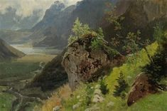 View Flusstal bei Richisau by Georg Eduard Otto Saal on artnet. Browse upcoming and past auction lots by Georg Eduard Otto Saal. Caspar David Friedrich, Painter Artist, Art For Sale, Oil On Canvas, German, Paintings, Cute, Art, River