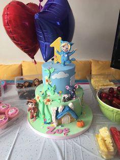 Dave & Ava 1st birthday cake