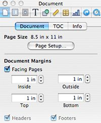 Tutorial for writing a novel in Pages.
