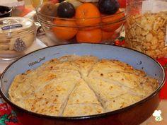 Потпечени редени питулици (со сирење или со лук и орев) Dairy, Cheese, Meat, Chicken, Recipes, Food, Essen, Meals, Eten