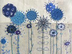 (90) Одноклассники Free Motion Embroidery, Free Machine Embroidery, Embroidery Applique, Cross Stitch Embroidery, Embroidery Patterns, Quilting Patterns, Quilting Ideas, Quilt Modernen, Fabric Cards