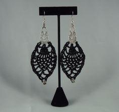 crochet earrings $22.50