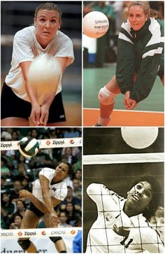 Top L-R: Heather Bown, Angelica Ljungquist  Bottom L-R: Kanani Danielson, Deitre Collins