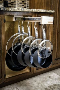 Amazon.com: Glideware Pull-out Cabinet Organizer for Pots and Pans: Cell Phones Accessories