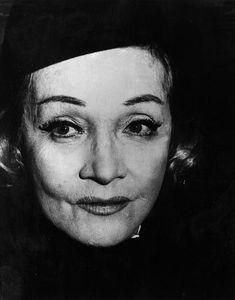 Marlene Dietrich, December 1972.