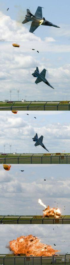 Pilot ejected before crash in Alberta Canada (1)