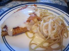 Chicken with Creamy Provel Sauce