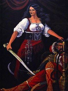 "Nora of Kelmendi was a 17th-century Albanian woman now legendary for her beauty and valor.[1]  She is sometimes referred to as the ""Helen of Albania"" as her beauty also sparked a great war. She is also called the Albanian Brünhilde too, for she herself was the greatest woman warrior in the history of Albania."