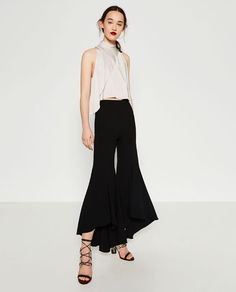 Image 1 of STUDIO TROUSERS from Zara