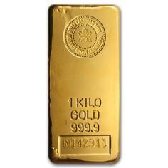 72805 1 Kilo Gold Bar - Royal Canadian Mint
