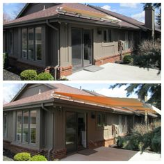 Sunsetter Retractable Awning in Sand Color