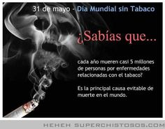 Dia Mundial Sin Tabaco. #AnímateACambiar para sentirte bien. #Quito #Ecuador