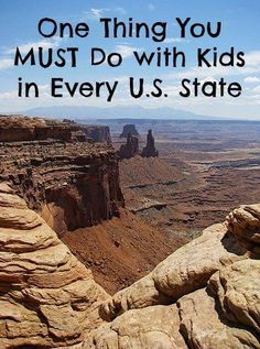 One Thing You MUST Do with Kids in Every U.S. State