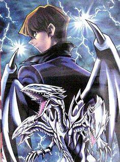 Kaiba and Blue Eyes Ultimate Dragon