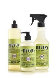 Mrs Meyer's Lemon Verbena products - love all of them