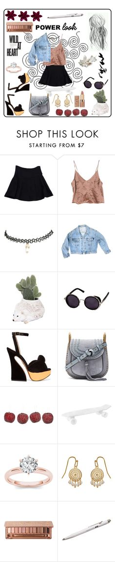 """My style ❤️"" by katy-y0 ❤ liked on Polyvore featuring Nanette Lepore, Wet Seal, GUESS, Ceramiche Pugi, Charlotte Olympia, Chloé, Amara, Seletti, Accessorize and Urban Decay"