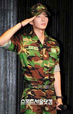handsome in uniform