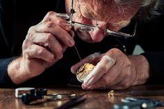 Stock Photo : Watchmaker