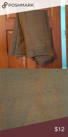 Gap stretch slacks Chocolate color stretch slacks by Gap GAP Pants Trousers
