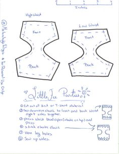 LTF Panty Pattern by MelancholyWings, via Flickr