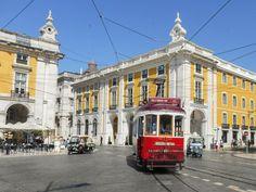 La place du Commerce à Lisbonne