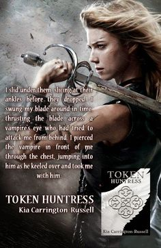 The Hoarding Readers Corner: Happy Release Day ~ Token Huntress by Kia Carringt...