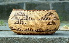 Native American Indian North West Hupa Basket