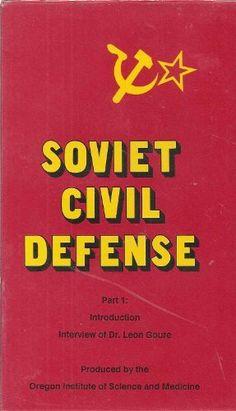 Soviet Civil Defense: Seven Tape Set (Nuclear War Survival Skills) , http://www.amazon.com/dp/B009VJYG92/ref=cm_sw_r_pi_dp_QSqUrb1ZEFKT9