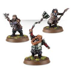 Bombur the Dwarf, Bifur the Dwarf and Ori the Dwarf – Champions of Erebor