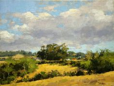 summer afternoon loleta by Jim McVicker, Oil, 12 x 16 Landscape Art, Landscape Paintings, Paintings Famous, Virtual Art, California Art, Impressionist Art, Amazing Drawings, Traditional Paintings, Land Scape