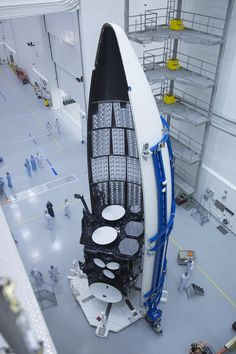 megazal:  Satellite Launch (via Official U.S. Air Force)