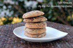 Tyler Florence My Big, Fat Chocolate Chip Cookies by Food Librarian