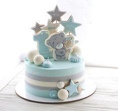 Best birthday cupcakes boy first Ideas Birthday Cake Cookies, Boys First Birthday Cake, Baby Birthday Cakes, Birthday Cakes For Women, Gateau Baby Shower Garcon, Bolo Cake, Baby Shower Cakes For Boys, Birthday Cake Decorating, Girl Cakes