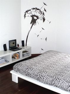 Wall Decals  Flowering Dandelion