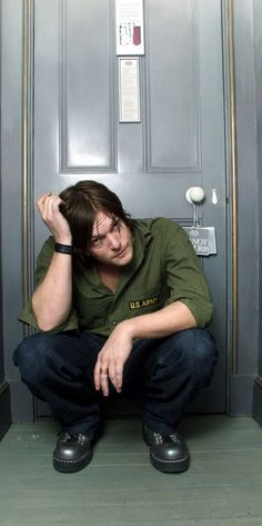 Norman Reedus. Gotta be one of my favorite pictures of him.