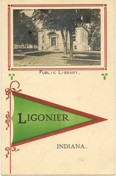 Ligonier Indiana, Library