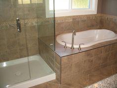 Kylie M Interiors: Beautiful Purple Bathroom - New Home Nanaimo