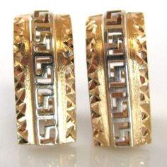 Rose Gold Earrings for pierced ears. Rose Gold Jewelry, Rose Gold Earrings, Gold Jewellery, Diamond Rings, Diamond Engagement Rings, Gold Rings, K Rose, Galway Ireland, Ear Piercings